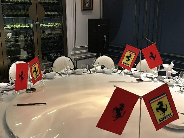 上海F1大赛法拉利车队答谢晚宴